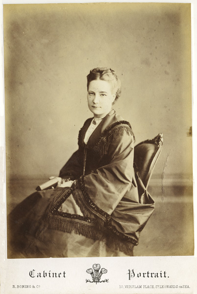 The Cabinet Photograph Increased In Popularity As Demand For Carte De Visite Portraits Fell