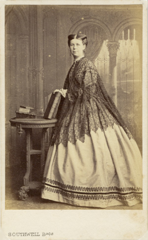 ABOVE A Carte De Visite Portrait Of Woman By Southwell Brothers Baker Street London Mrs Sophia Rogerson Was The Sister Three